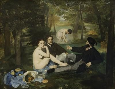エドゥアール・マネ 『草上の昼食』 1863年