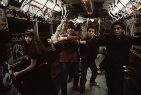 クリストファー・モリス NYC Subway 1981