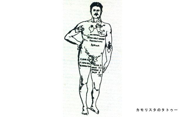 カモッラ タトゥー