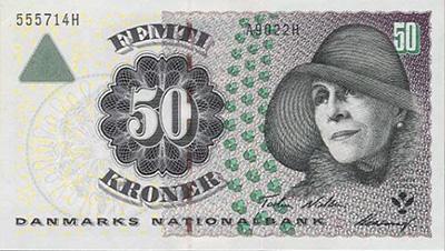 50クローネ カレン・ブリクセン