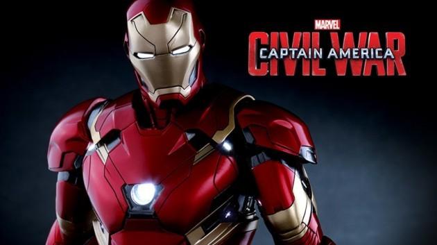シビル・ウォー キャプテン・アメリカ アイアンマン マーク46