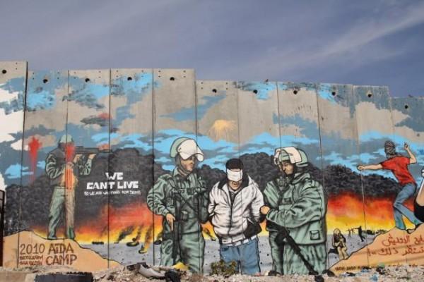 イスラエル パレスチナ 分離壁