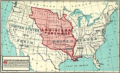 ルイジアナ 1803
