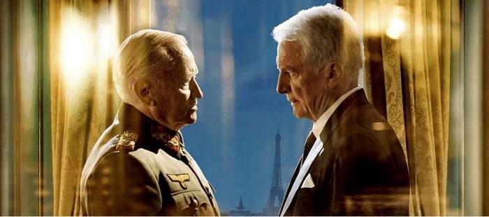 対峙するコルティッツ将軍とノルドリング領事