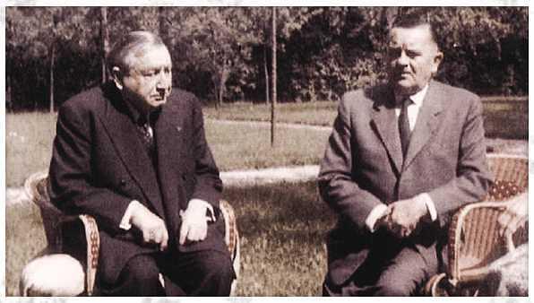 コルティッツ将軍とノルドリング領事の実際の写真