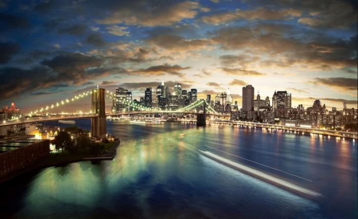 ブルックリンの夜景