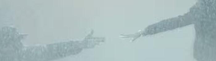 海にかかる霧